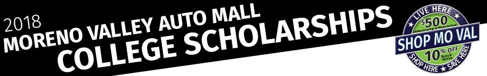 Moreno Valley Auto Mall #ShopMoVal College Scholarships