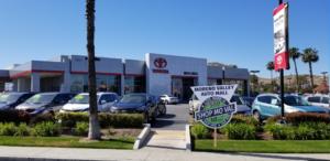 Moss Bros Toyota Scholarship Photo Op Location Moreno Valley Auto