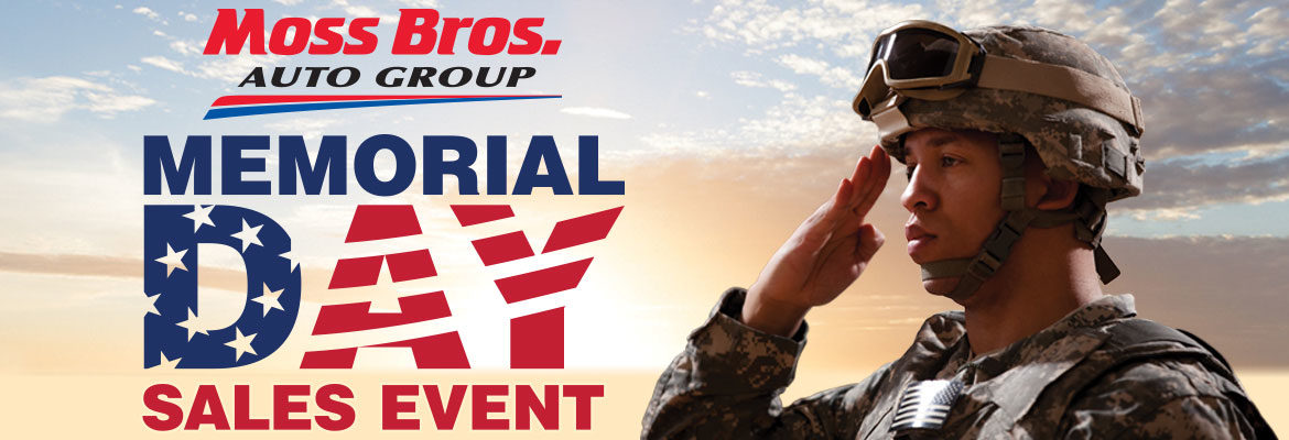 Memorial Day Sales Event at Moss Bros. Auto Group